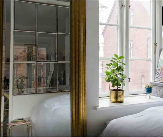 Cosy and beautiful 1-room flat in The heart of CPH