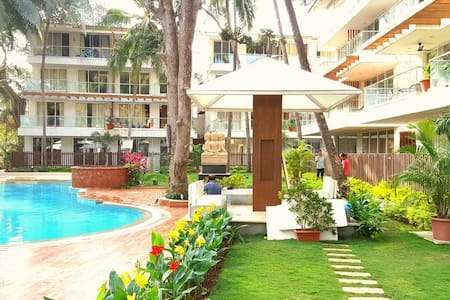 Calangute Beach Goa 7 * 1 Bedroom Apartments - Καλανγκούτε - Διαμέρισμα