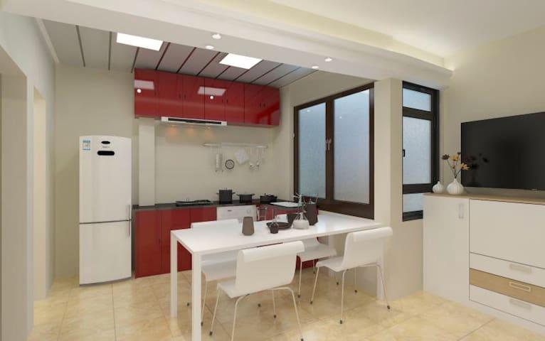 澳門半島市區中心 全新裝修 優質民宿 (獨立藍色房)