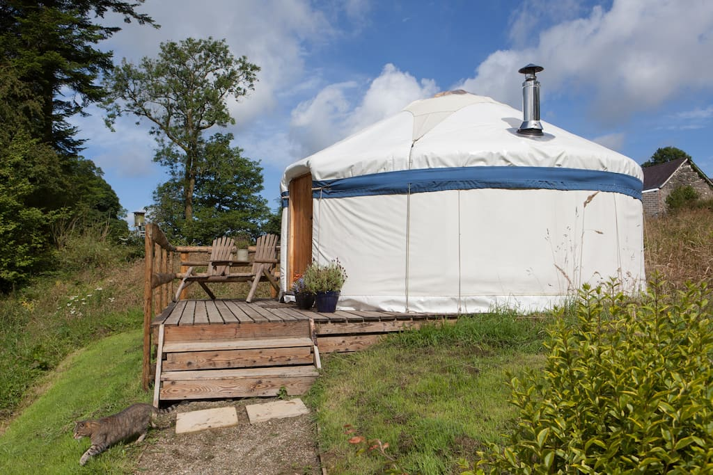 Buzzard Yurt Boncath