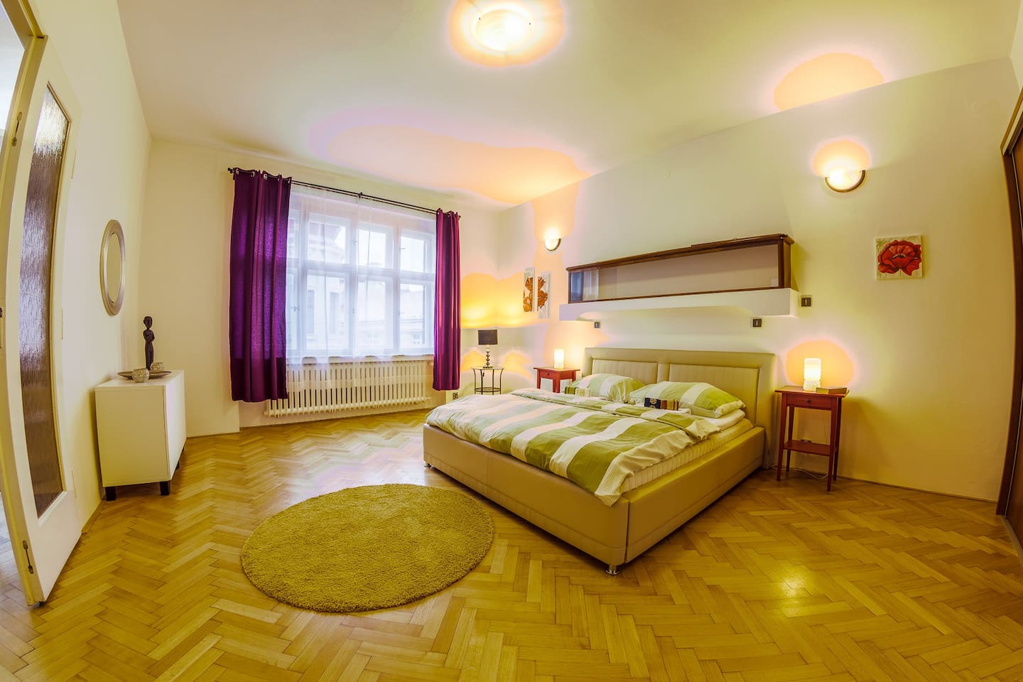 Superior flat will invite you with it's spacious rooms and unique Czech atmosphere!
