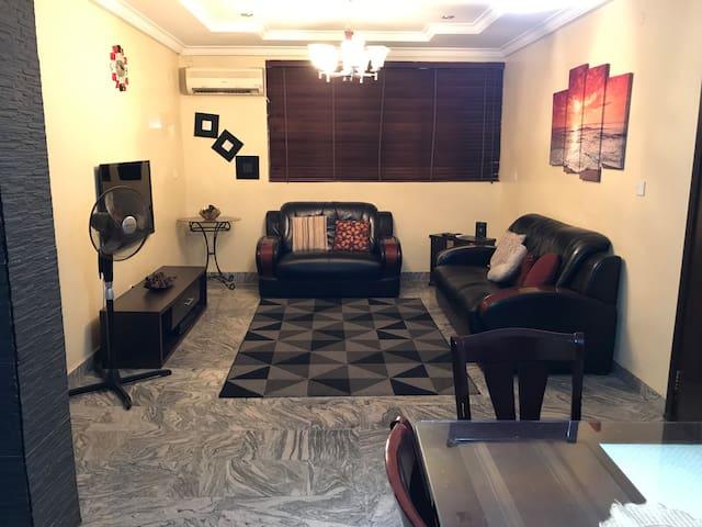 Lovely Two Bedroom Apartment in Garki 2