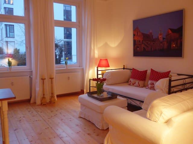 2 - Zimmer Wohnung, ruhig, stadtnah mit Parkplatz - Braunschweig - Apartamento