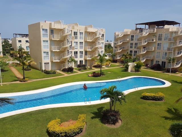 Hospedaje Departamento en Marina Diamante Acapulco
