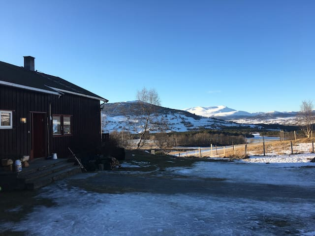 Cozy apartment in an organic farm. - Oppdal - Lejlighed