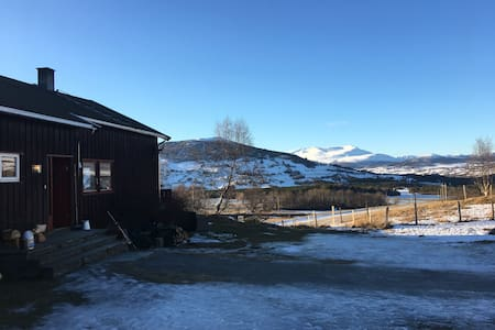 Cozy apartment in an organic farm. - Oppdal - Pis