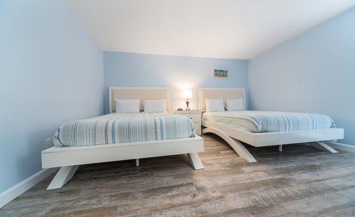 New Listing! Stunning, modern beachfront condo. Fully renovated, luxury upgrades!