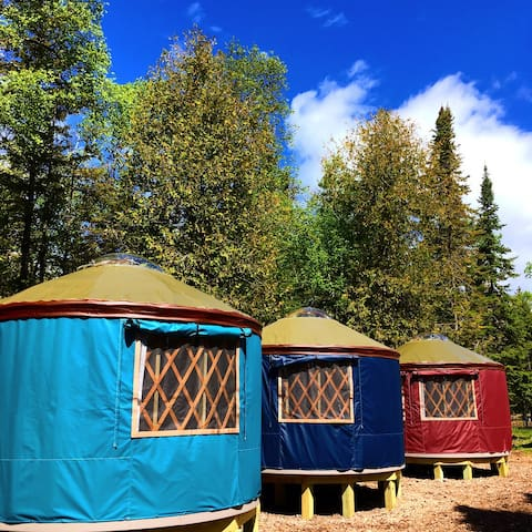 Yurt Vacation Rental on Lake Huron - Off Grid