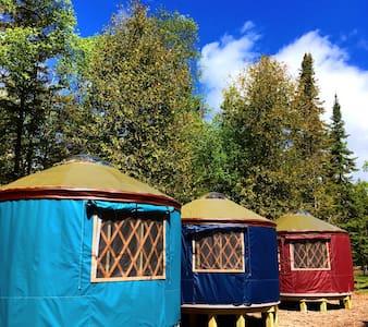 Yurt Vacation Rental on Lake Huron - Off Grid