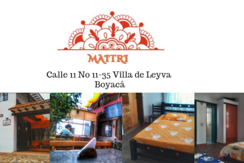 Casa Maitri Calle 11 No 11-35 Villa De Leyva