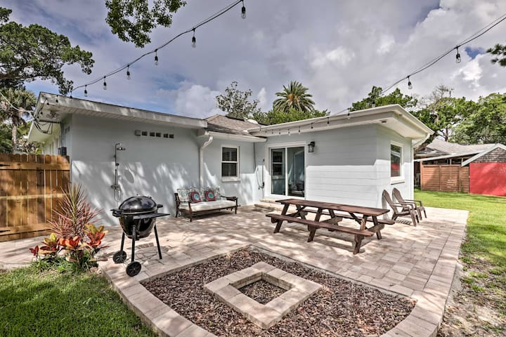 NEW! Modern St. Augustine Home <3 Mi to the Beach!