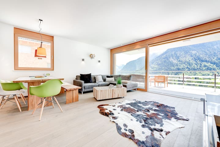 Appartement Valbona - Blick - Bürserberg - Apartment