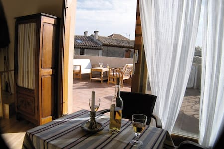 Lovely & romantic house, near Carcassonne & beach. - La Redorte - Dom