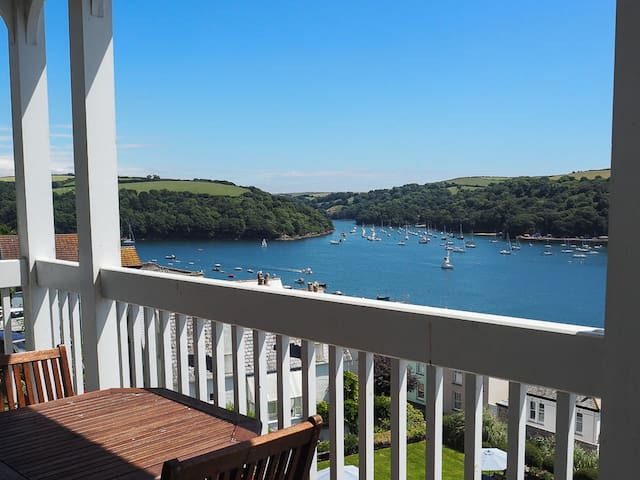 Stunning views, 2 bed flat in Cornwall - Fowey - Apartamento