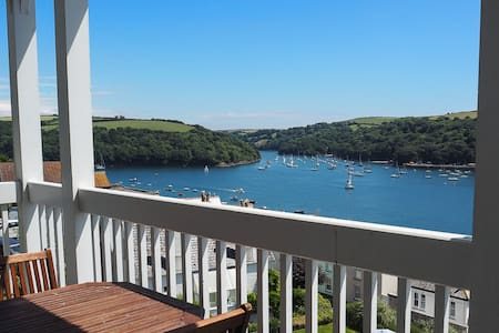 Stunning views, 2 bed flat in Cornwall - Fowey - Leilighet