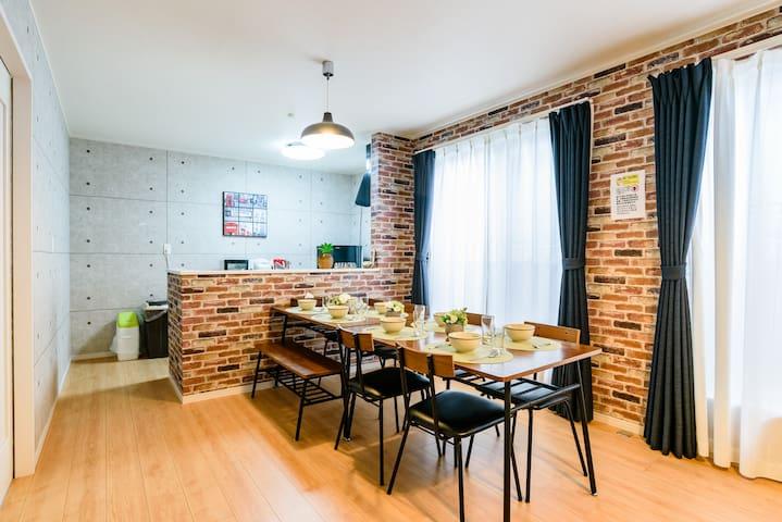 61 Onna Private Villa/Modern design/4BR/WiFi
