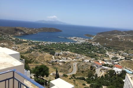 Cozy Traditional Home with Spectacular Sea Views - Serifos - Hus