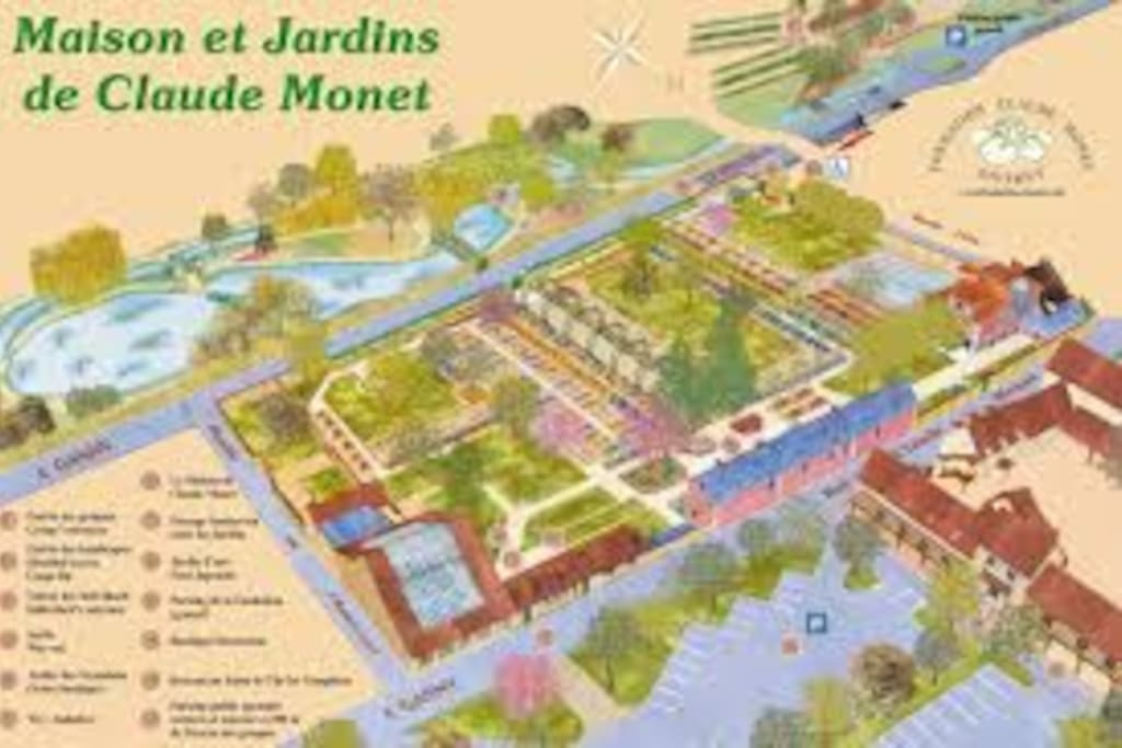 Giverny, Claude Monet, musée des Impressionnismes.