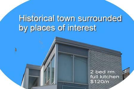 歷史古城、名勝環繞、四季皆宜、步行到街、24小時 Shop Rite  Walmart 5分車程內。
