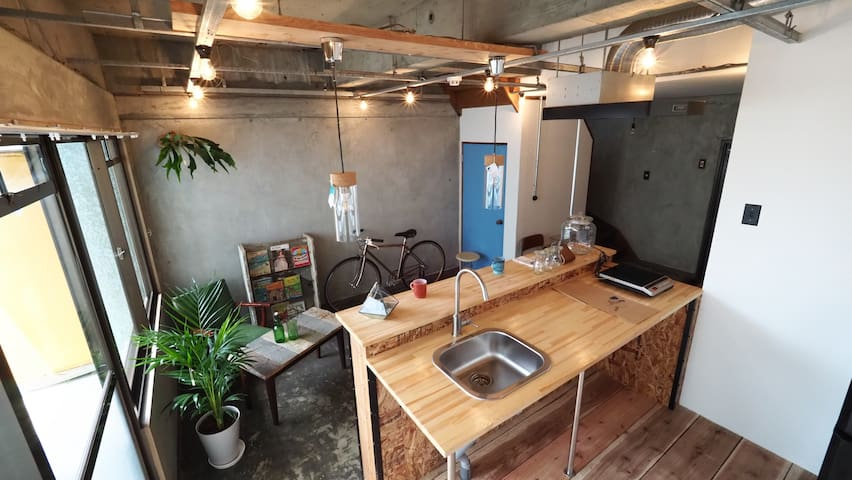 【With a parking】The Brooklyn style apartment(57㎡)