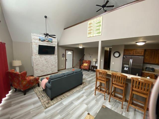 NEW! Bridges Bay Cabin listing**sleeps 15+