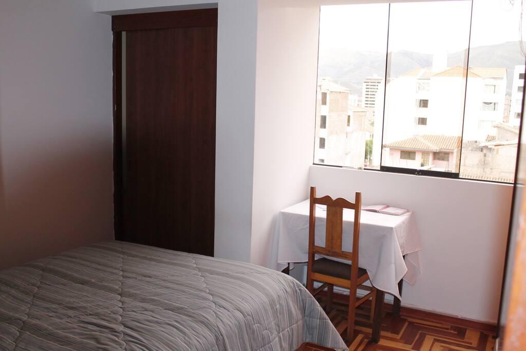 Dormitorio ofrecido.