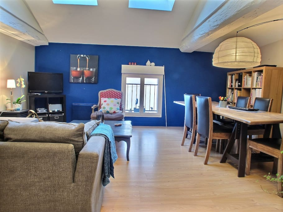 grand duplex proche centre ville et gare appartements louer chalon sur sa ne bourgogne. Black Bedroom Furniture Sets. Home Design Ideas