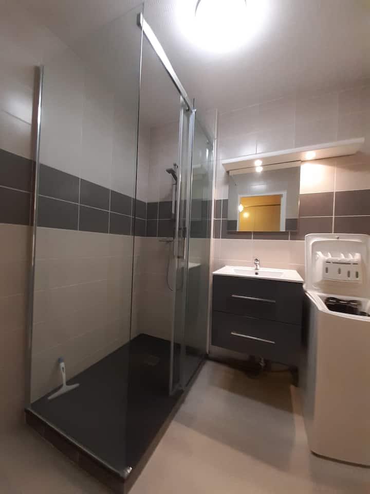 Appart de 35 m2 avec une grande terrasse