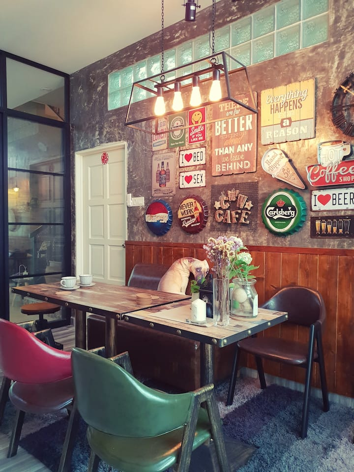 Cafe Artistic Room@Kepong near Desa park city