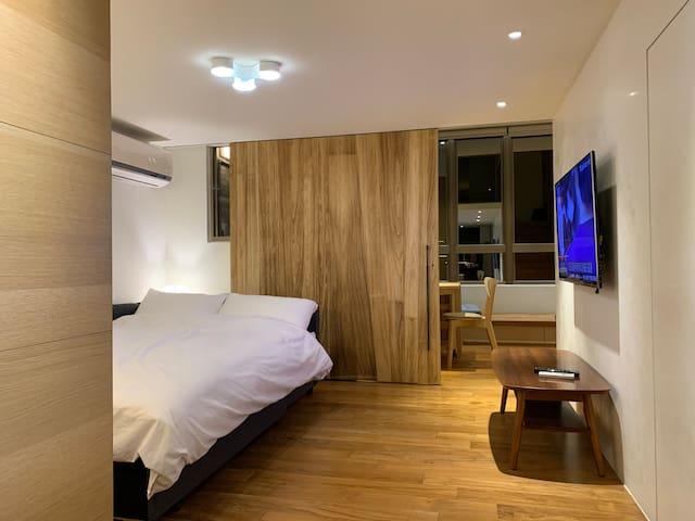 1F-客廳(沙發床 寬150公分)