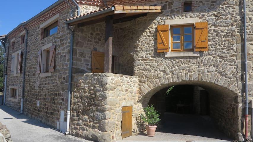 Gîte de la voute - Vernosc-lès-Annonay - Casa