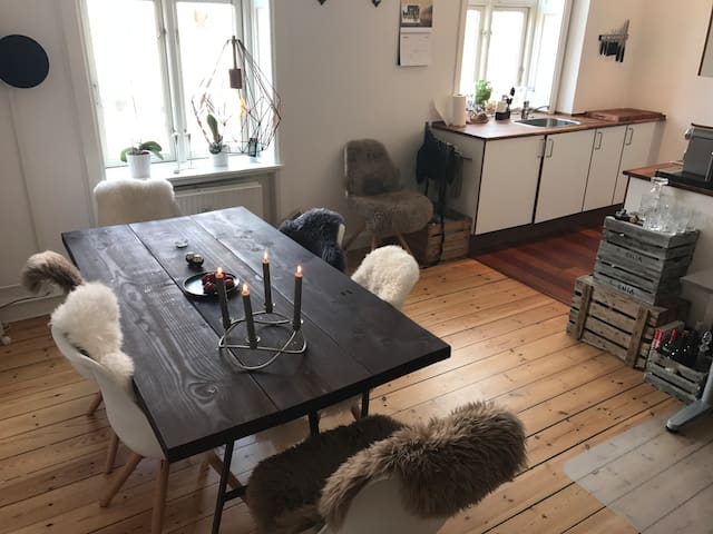 Fully equipped apartment in the heart of Amager - Copenhagen - Apartemen
