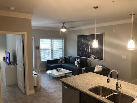 Trendy 2 BR APT, Smoke-Free, in DURHAM -By Candace