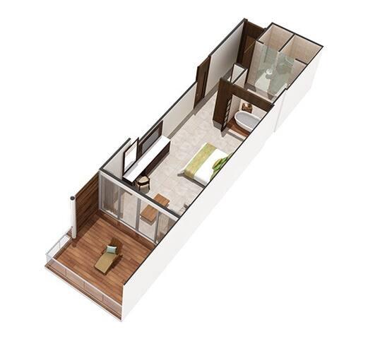 Floor Plan Master Room