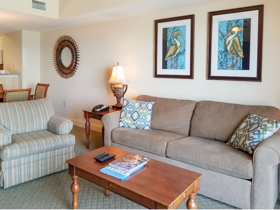 You'll find your condo spotlessly clean, thanks to TurnKey's professional housekeeping team.