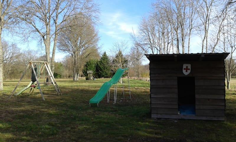 maison familiale avec grand jardin - Auxy
