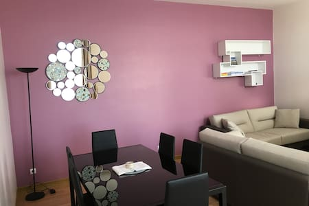 Confortable flat 68 m2 close to the town center - Boulogne-sur-Mer - Wohnung