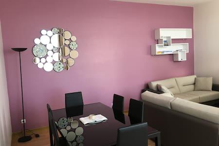 Appartement confort T3 68 m2 au pied des remparts - Boulogne-sur-Mer