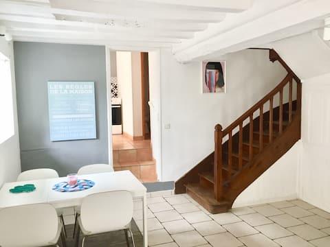 Het kleine huis in Thury-Harcourt