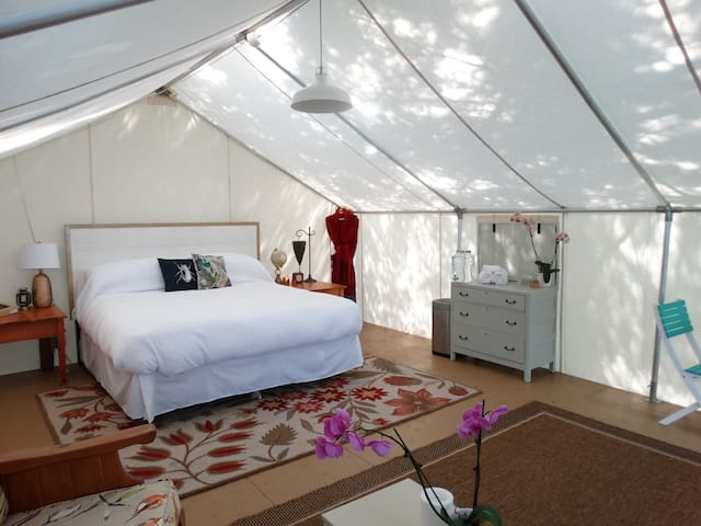 Glamping Tent Suite - Sundridge - Pis