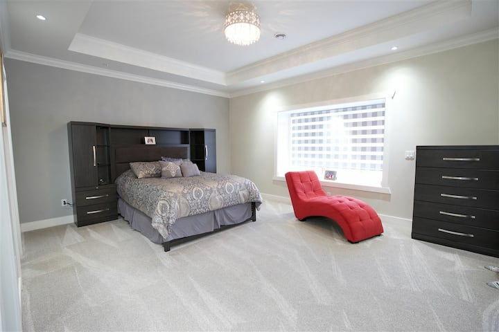 Brand new house luxury  & spa bath master bedroom