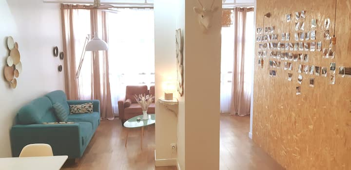 ❤️Central & Lovely Appartment near LE Marais