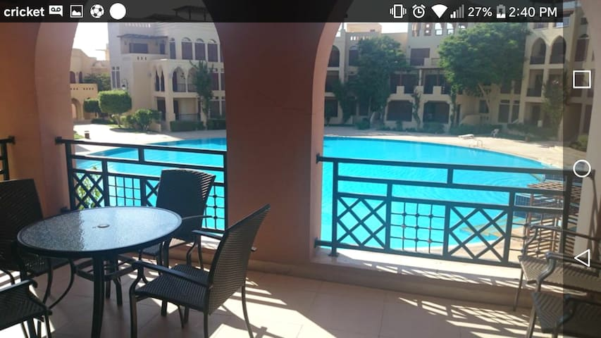 AQABA   TALA BAY beach  condo (WEEkLY DISCOUNT)))