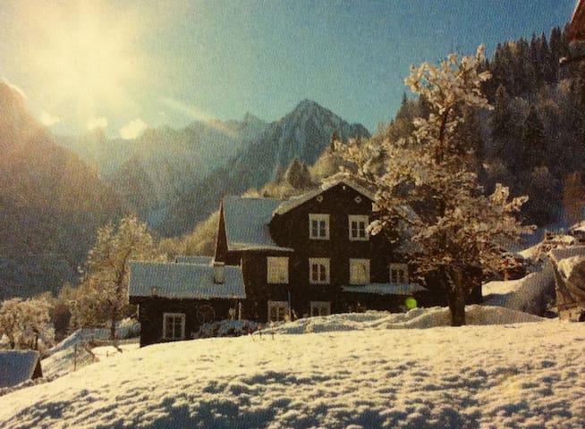 Uriges Bauernhaus im Brandnertal