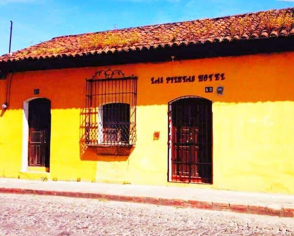 Hotel Las Piletas Habitacion 2 camas #6