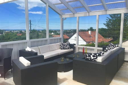 Nice room in a house with a view - Haugesund