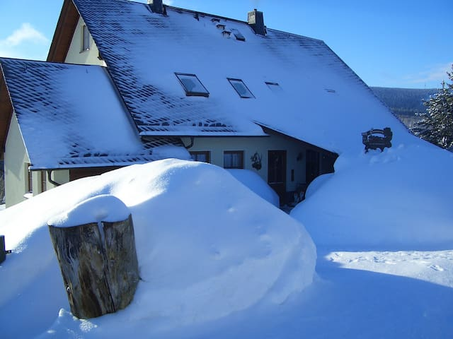Gemütliche ruhige Ferienwohnung - Oberwiesenthal