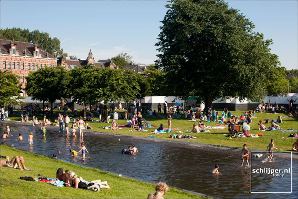 The Westerpark is one of the absolute centre point of the Amsterdam lifestyle.