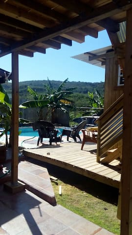 Cabin by the Pool @ the Dry Forest - María Antonia