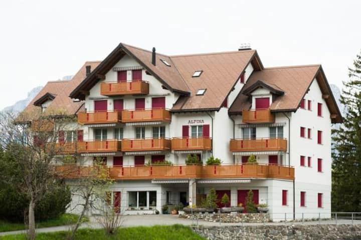 Haus Alpina 3.5 Zimmer, 7 Betten